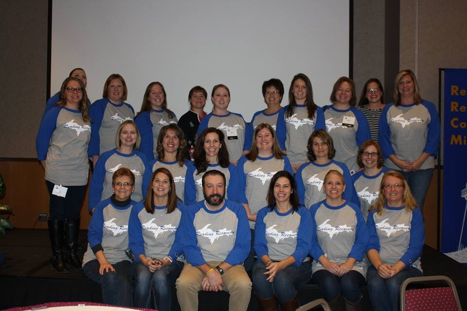 Picture of teaching staff for reading recovery program